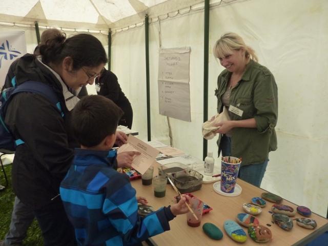 Noss Open Day 2013 -  Children's activities