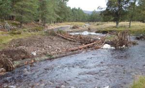 The Allt Lorgy after river improvements