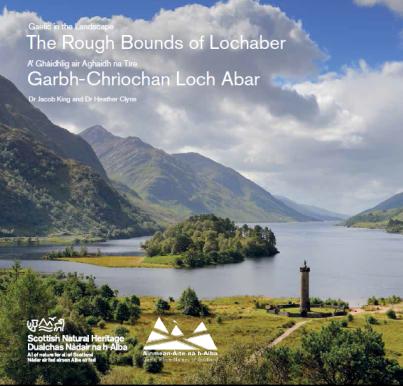 Còmhdach an leabhrain ùr A' Ghàidhlig air Aghaidh na Tìre: Garbh-Chrìochan Loch Abar Cover of the new booklet Gaelic in the Landscape: The Rough Bounds of Lochaber