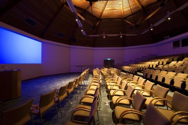 Battleby Auditorium.