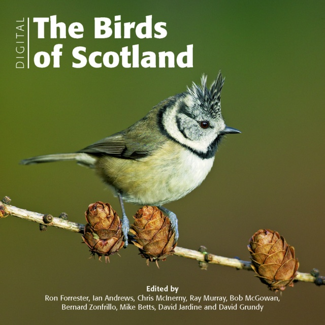 SOC  The Birds of Scotland cover