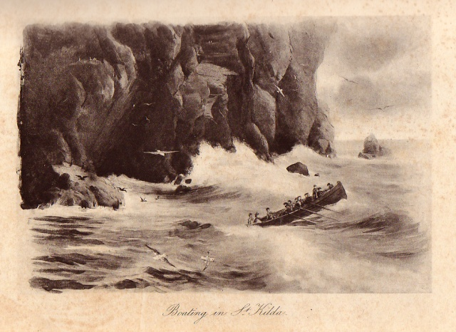 A photogravure illustration from Norman Heathcote's 'Boating in St Kilda'