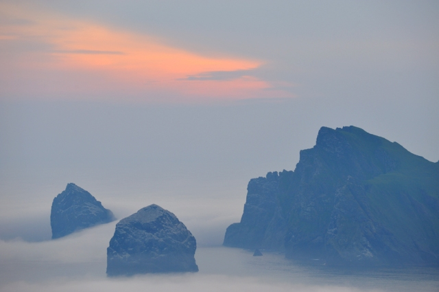 Stac an Armin, Stac Lee and Boreray, St Kilda.   (c) Lorne Gill/SNH