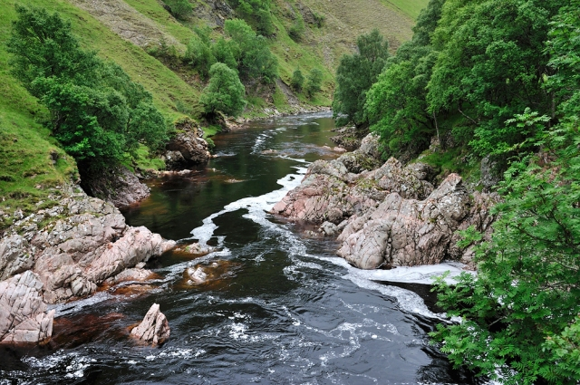 The River Tilt, Perthshire.