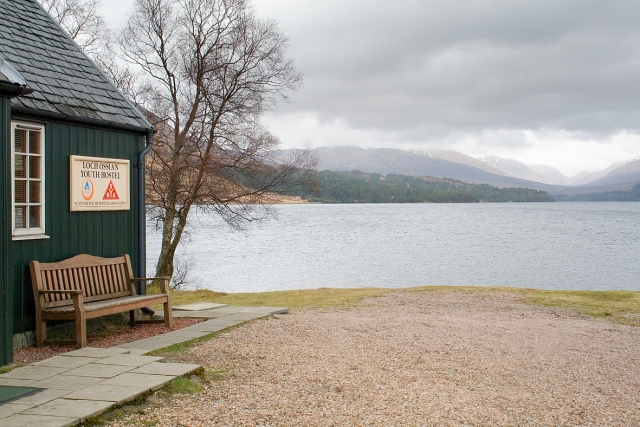Loch Ossian - an old fashioned youth hostel with modern touches