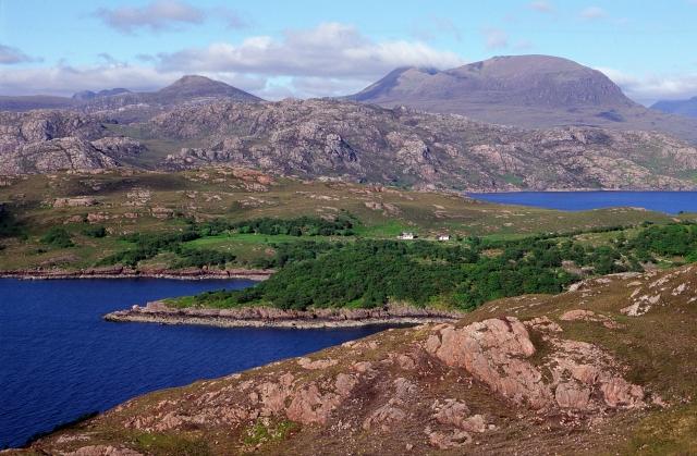 View north over Loch Torridon