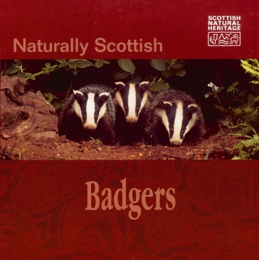 Naturally Scottish  Badgers  publication