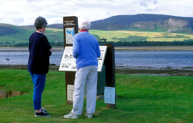 Loch Fleet, a great location for visitors