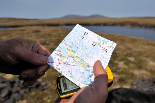 Mapping and GPS receiver