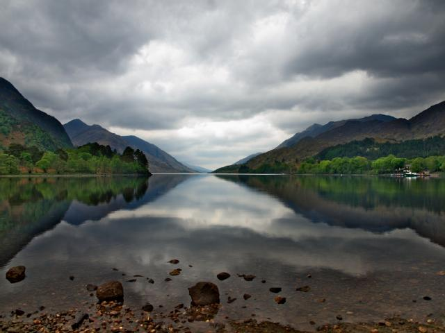 Loch Shiel by Davie Hudson