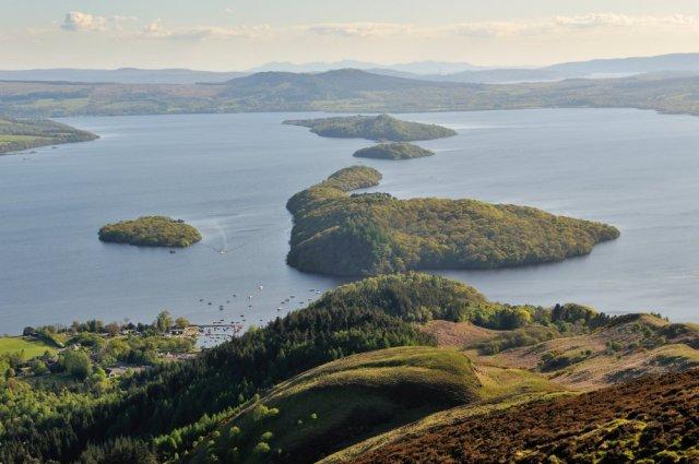 Inchcailloch NNR, Loch Lomond ©Lorne Gill/SNH.