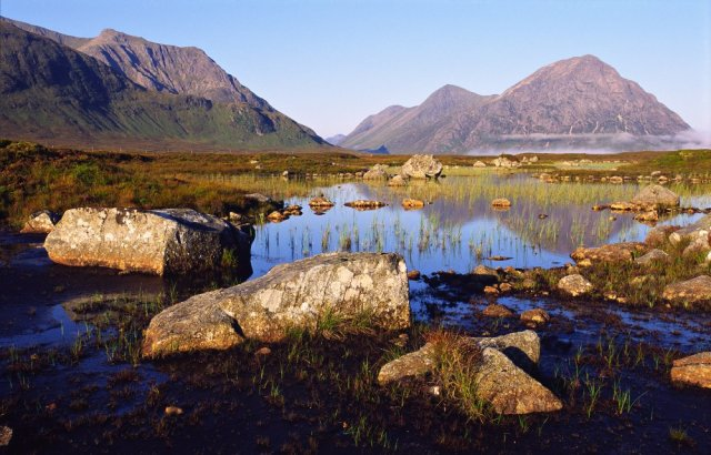Rannoch Moor and the Buachaille Etive Mor. ©Lorne Gill/SNH