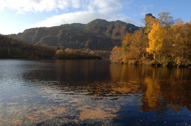 Loch Katrine looking over to Ben Venue