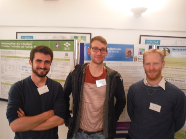 Three of my own students Calum Campbell (Glasgow) Rupert Houghton (Aberdeen) and Rob Brackley (Glasgow) Copyright Prof Colin Bean