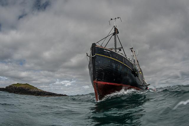 Loch Madadh boat. © George Stoyle/SNH