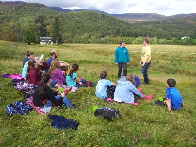 Story Telling with the Shieling Project