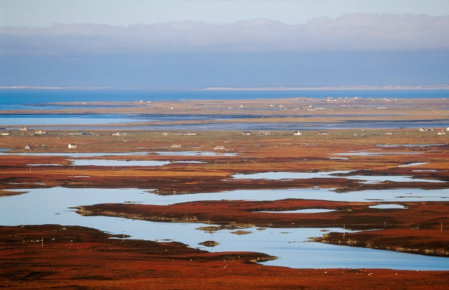 Benbecula from South Uist.