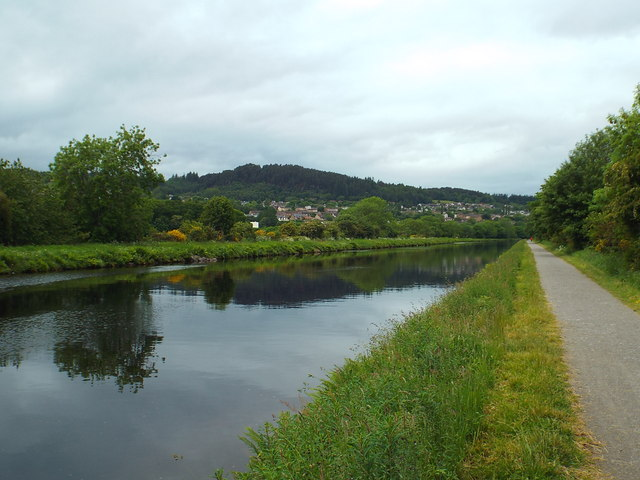 The Caledonian Canal on the outskirts of Inverness, © Malc McDonald, Creative Commons Licence