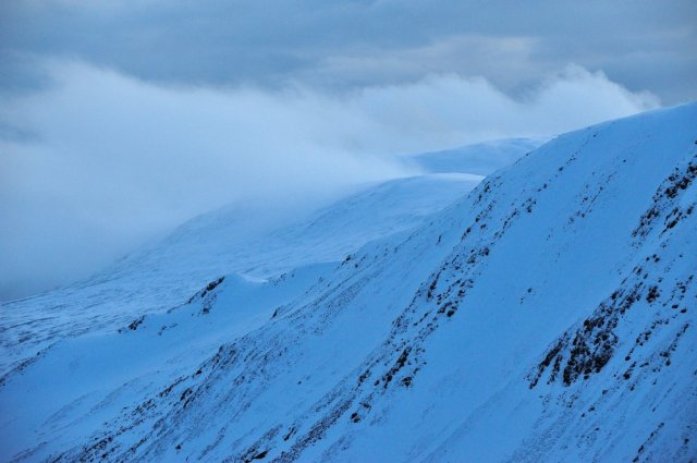 Glenshee in the Cairngorm National Park.