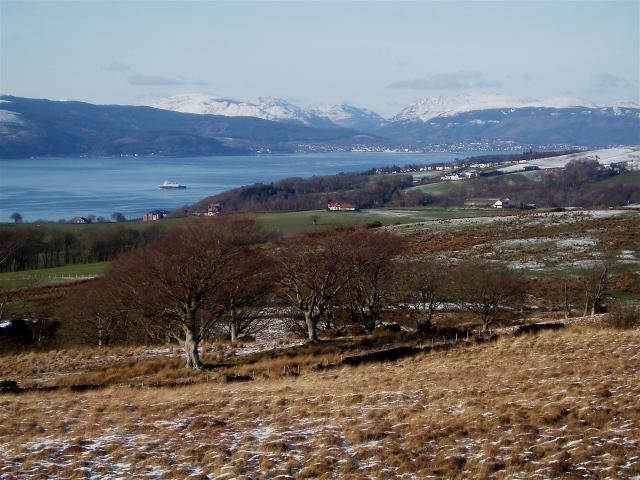 Knock Hill panorama