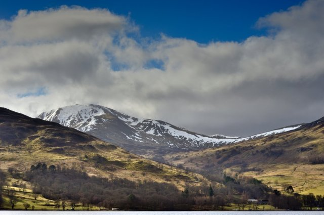 Ben Vorlich and Loch Earn. ©Lorne Gill
