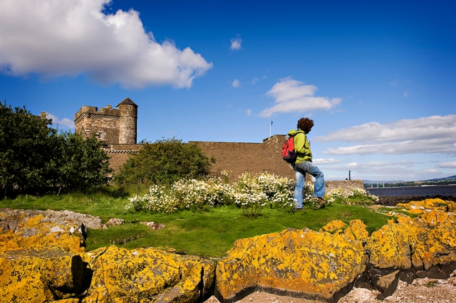 Views across the Forth from Blackness Castle ©beckyduncanphotographyltd/SNH