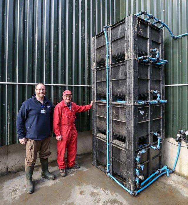 SLM Incentive Scheme financed biofilter and pesticide sprayer loading area.