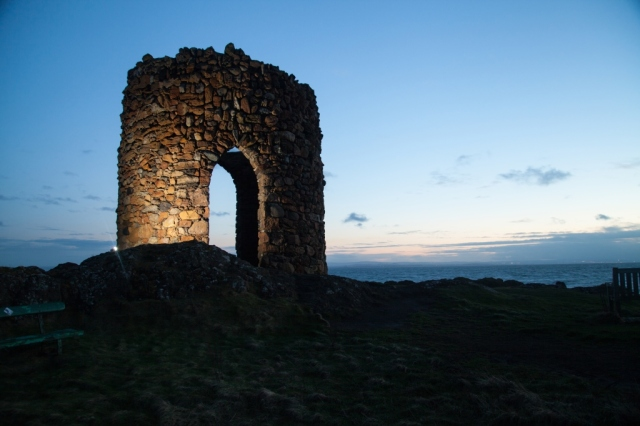 Elie Lady's Tower. ©Fife Coast and Countryside Trust