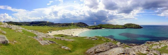 Snorkel Trail site at Achmelvich.
