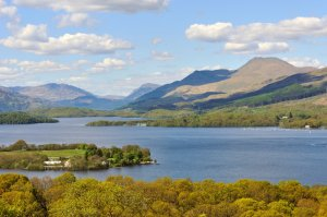 Ben Lomond and Loch Lomond. ©Lorne Gill