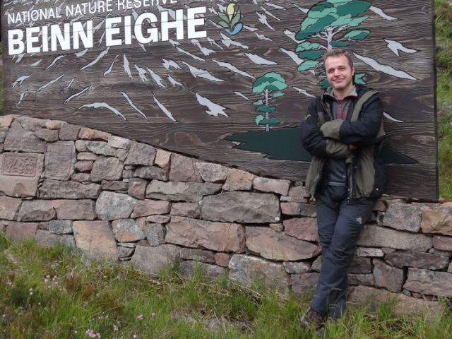 Stuart MacKenzie, SRUC Placement at Beinn Eighe NNR.