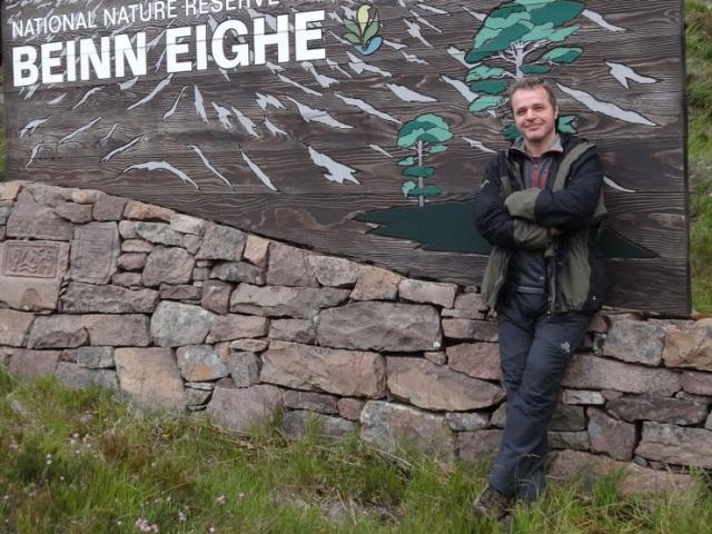 Stuart MacKenzie, SRUC Placement at Beinn Eighe NNR.