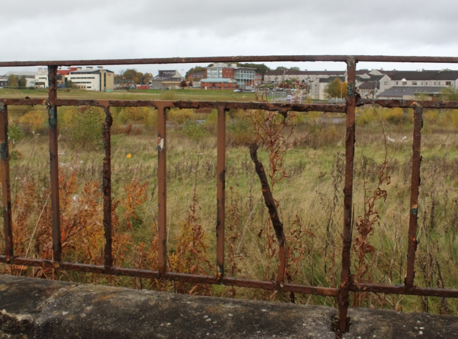 Rusting railings, Easterhouse.