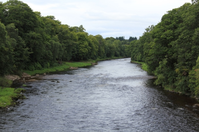 The same section of the River Dee after restoration work. ©Lorne Gill/SNH