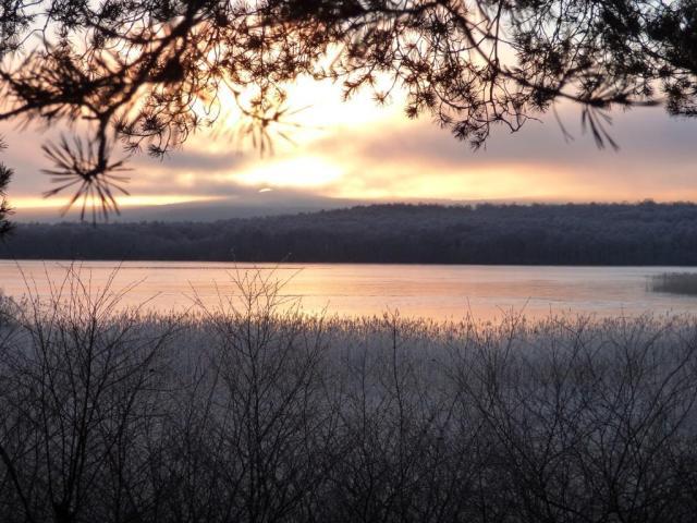 Sunrise over Davan. © Catriona Reid/SNH