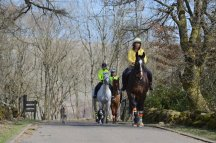 Horse riders at Mugdock Country Park. ©Lorne Gill/SNH