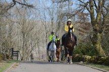 Horse riders at Mugdock Country Park. ©Lorne Gill/SNH