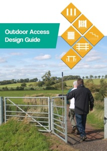 Outdoor Access Design Guide cover.