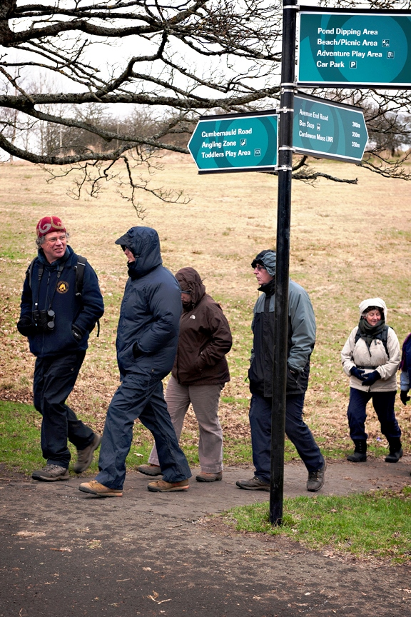 'Tracks and signs' guided walk at Hogganfield LNR.