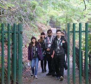 Exploring urban nature in Glasgow.