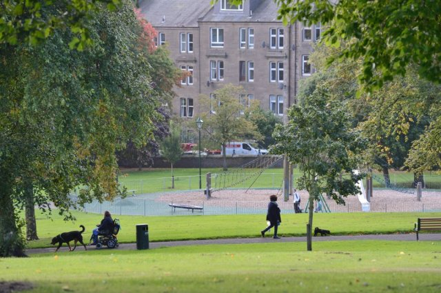 Greenspace around Dundee. ©Lorne Gill/SNH