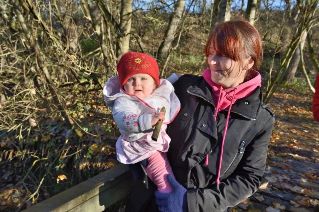 Family Fresh Air Club outing to Barry Mill, Carnoustie, November 2016. ©Lorne Gill/SNH
