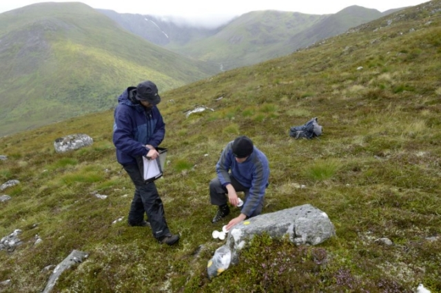 Helping nature adapt - lichen translocation project at Creag Meagaidh NNR. ©Lorne Gill/SNH