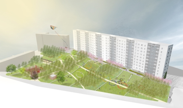Southside Housing Association visualisation. ERZ