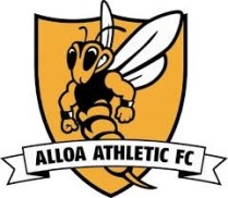 Alloa Athletic FC crest.