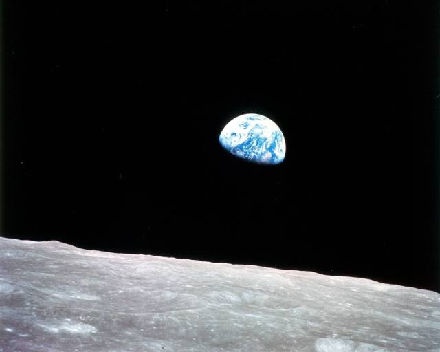 Earthrise by Apollo 8 astronaut William Anders.