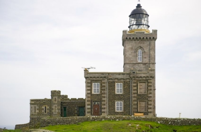 The imposing Stevenson Lighthouse
