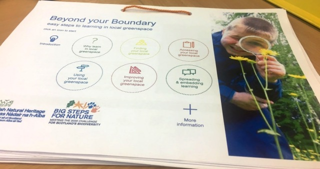 Beyond your Boundary, our new schools resource. © Suzanne Downey/SNH
