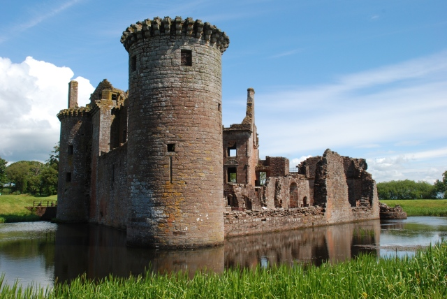 Caerlaverock Castle. © Kenny Taylor