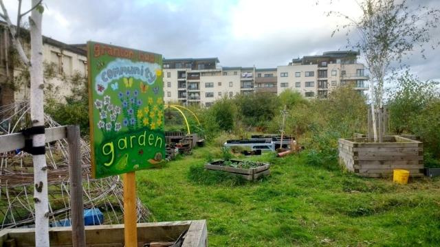 Granton Community Garden. ©Andy Dorin